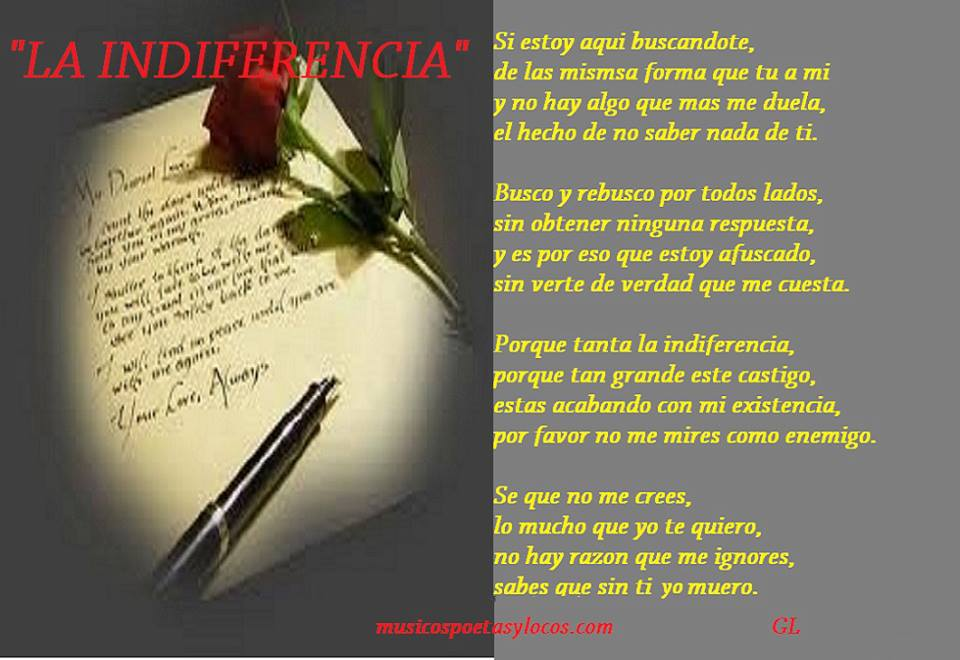 la indiferencia